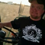Brian, Swank Farms – out on the combine running corn