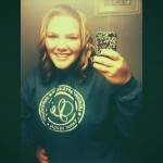 Beautiful Briana in her new LeLe Hoodie