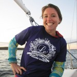 Lindsey, Owner/CEO of MyOmBody.com – sailing Cape Cod, MA