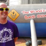 Tyson at the World's Highest Commercial Bungy Jump in China!