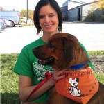 "Sarah & Jude at the ""Stroll For Strays"""